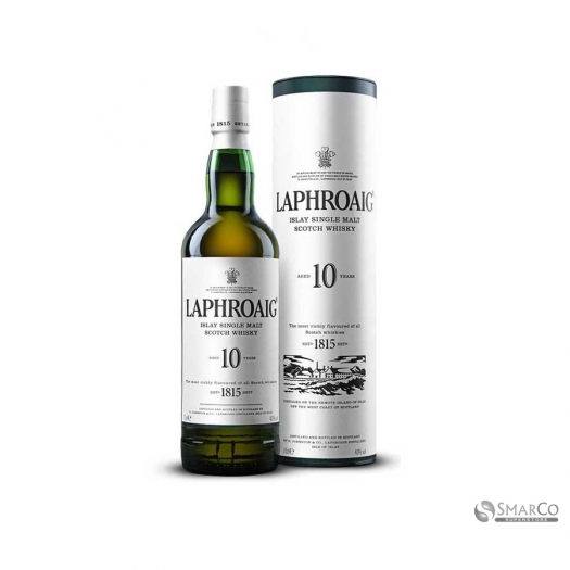 LAPHROAIG SINGLE MALT 10 YEAR 700 ML 5010019640260