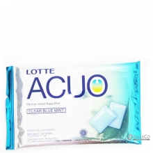 LOTTE ACUO CLEAR BLUE MINT PCS 12 GR 1014050010367 8990333140301