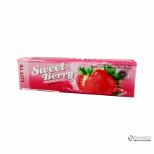 LOTTE STICK CHEWING GUM SWEETBERRY 15 GR 1014050010219 8990333115101