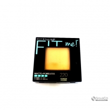 MAYBELLINE PWD FIT ME MATTE PORELESS NAT BEIGE 1015050010824 041554433814