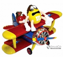 M&M PEANUT AIRPLANE DISPENSER 45 GR 8719900514754
