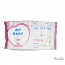 MY BABY XTRA CARE WIPES SWEET FLORAL 6061010060840 8999908388704