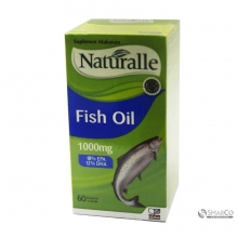 NATURALLE FISH OIL 1000MG 60`S 1016110050029 9557046001122