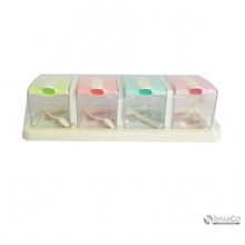 NEW PROMOTIONS 4 COMPARTMENT CONDOMENT BOX10067875  8992017310932