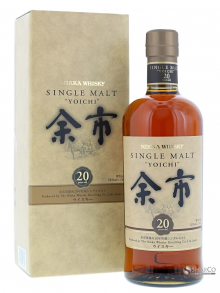 NIKKA WHISKY SINGLE MALT 20 YO
