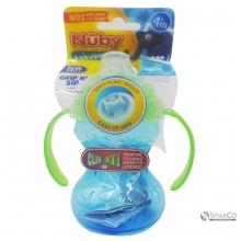 NUBY CLKIT TWNHNDLE TRNR CUP NB110 240 ML 6061010061044 0048526101207