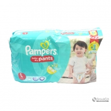 PAMPERS BABY DRY PANTS L50 1015020010115 4902430601214