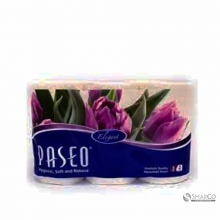 PASEO ELEGANT TOWEL ROLL WHITE TIP TO TIP 3 ROLLS 70`S 1011060060003 8993053411010
