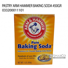 PASTRY ARM HAMMER BAKING SODA 450GR 033200011101