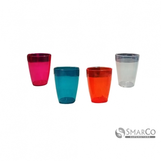 PLASTIC CUP TRANSPARENT CLEAR COLOR DT17 2024010011120 8992522107829