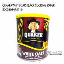 QUAKER WHITE OATS QUICK COOKING 500 GR 5000108478119