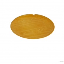 ROUND SLVRTRAY WITH WOOD GRAIN 10126837-2 2024010010422 8992017305648