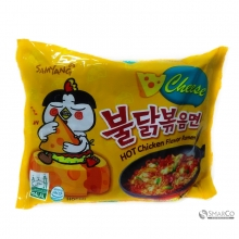 SAMYANG FOOD HOT CHICKEN RAMEN CHEESE 140 GR 8801073113312 8801073113268