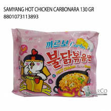 SAMYANG HOT CHICKEN CARBONARA 130 GR 8801073114173