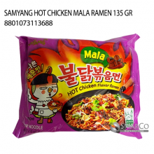 SAMYANG HOT CHICKEN MALA RAMEN 135 GR 8801073113688