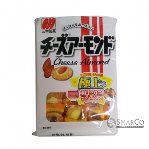 SANKOSEIKA CHEESE ALMOND 4901626056609