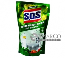 SOS-DISHWASH-LIME-FRESH-REFFIL-800-ML 1011030010030