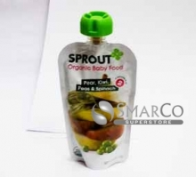 SPROUT BABY PEAR KIWI & SPINACH 113 GR 818512012035