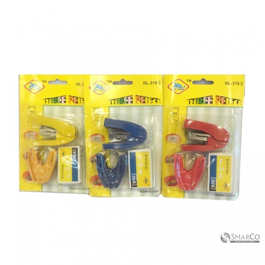 STAPLER SET FOR SCHOOL ODDICE REDBLUE 1004854  8992017311595