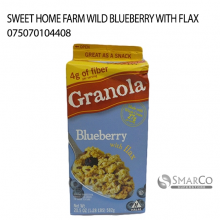 SWEET HOME FARM WILD BLUEBERRY WITH FLAX 075070104408