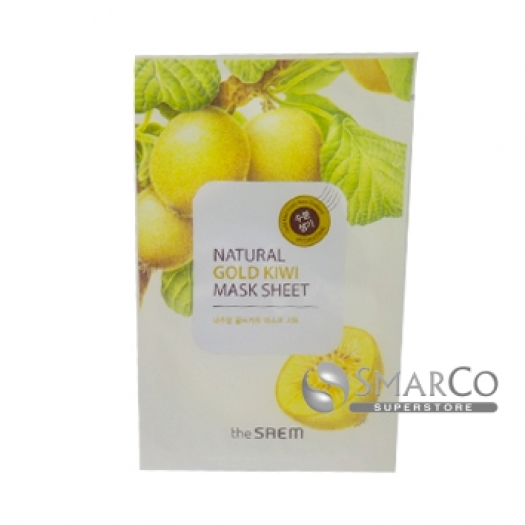 THE SAEM NATURAL GOLD KIWI MASK SHEET 8806164115558