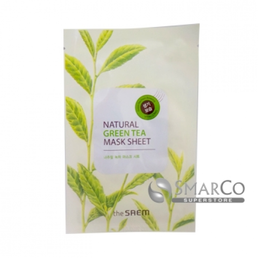 THE SAEM NATURAL GREEN TEA MASK SHEET 8806164115602