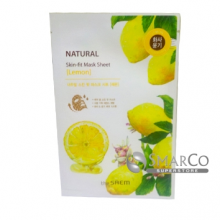 THE SAEM NATURAL SKIN FIT MASK SHEET LEMON 8806164142738