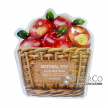 THE SAEM NATURAL TOX APPLE MASK SHEET 8806164131008