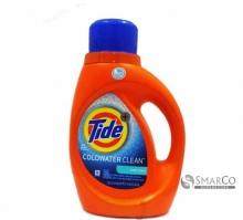 TIDE COLD WATER LAUNDRY DETERGENT CLEAN FRESH 037000874195