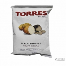TORRES SELECTA BLACK TRUFFLE POTATO CHIP 125 GR 8426944001071 1014160021002