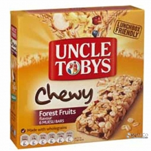 UNCLE TOBY CHEWY FOREST FRUIT 185 GR 9310060406928