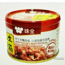 WEI CHUAN FRIED GLUTEN WPEANUT IN SOY 170 GR 4710063121470 1014160010449