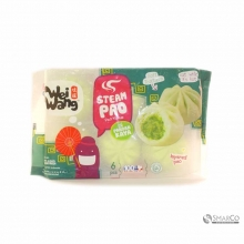 WEI WANG STEAM PAO PANDAN KAYA 6 PCS 1017140010010 8997032111243