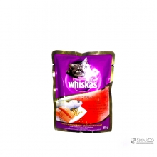 WHISKAS POUCH MACKEREL & SALMON 85 GR 8853301550079
