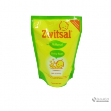 ZWITSAL BB BATH NAT MILK&HONEY 450 ML 8999999044190  6061010060414